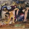 La strage degli innocenti (1943, acquarello)