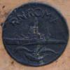 Medaglia celebrativa per la consegna della Regia Nave Roma (1942, modello in materiale duttile)