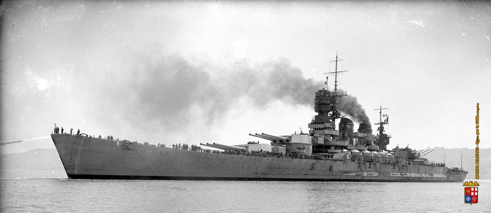 Roma nave da battaglia marcello mascherini for Andrea doria nave da guerra