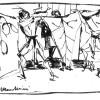 """Cartoni animati, di Mario Bugamelli, Teatro """"Giuseppe Verdi"""", Trieste, 29 dicembre 1948 (scene e costumi)"""