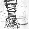 """Il costruttore di imperi, di Boris Vian, Club """"La Cantina"""", Trieste, 29 gennaio 1962 (regia e scene)"""