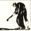 """G. Segrè, I desideri, in """"Femmina"""", a. II, V.I.E.L.A., Trieste, luglio 1924, p. 28 (disegno a inchiostro)."""